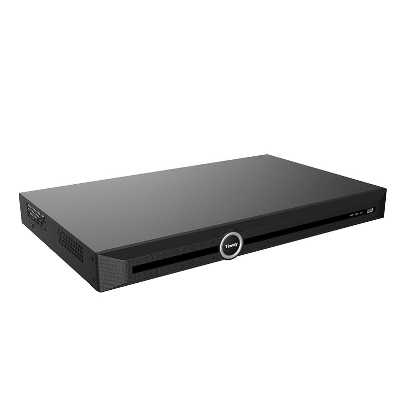 TC-R3216 Rejestrator hybrydowy 16-kanałowy 2HDD H.265/S+265 4K